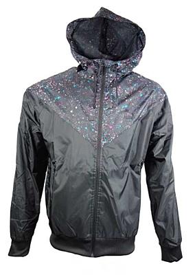 MCS Speckle Windbreak black Pánská bunda
