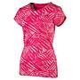 FUN AOP Tee W rose red-AOP Dámské tričko