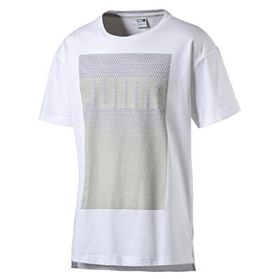 Evo Longer Line Logo Tee white Pánské tričko