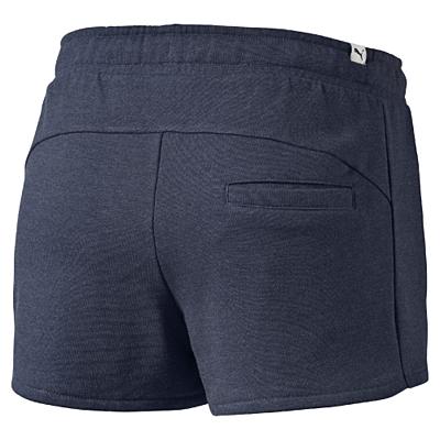 FUN HERO Shorts W peacoat heather Dámské kraťasy