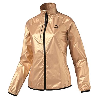 Gold Windrunner pale gold Dámská bunda