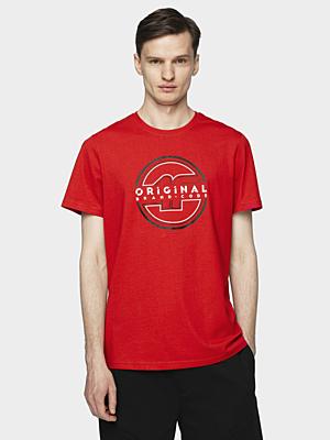 H4L21-TSM019 RED Pánské tričko